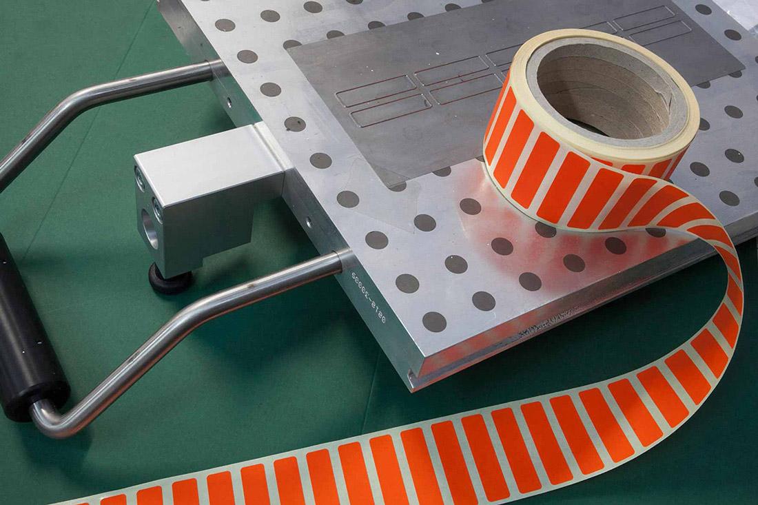 Etichette in materiali plastici Cursi